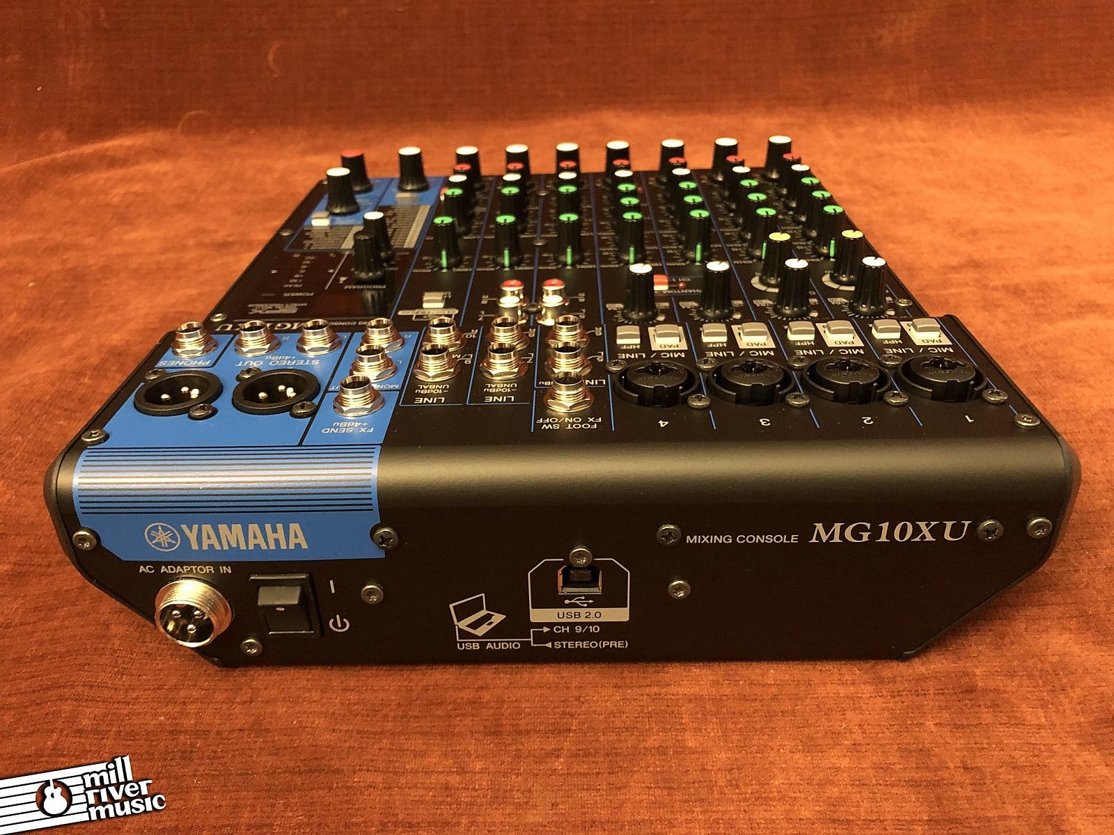 Yamaha MG10XU 10-Channel Mixer w/ USB & FX Like New