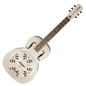 Gretsch G9231 Bobtail Steel Square-Neck Acoustic Electric Resonator for sale