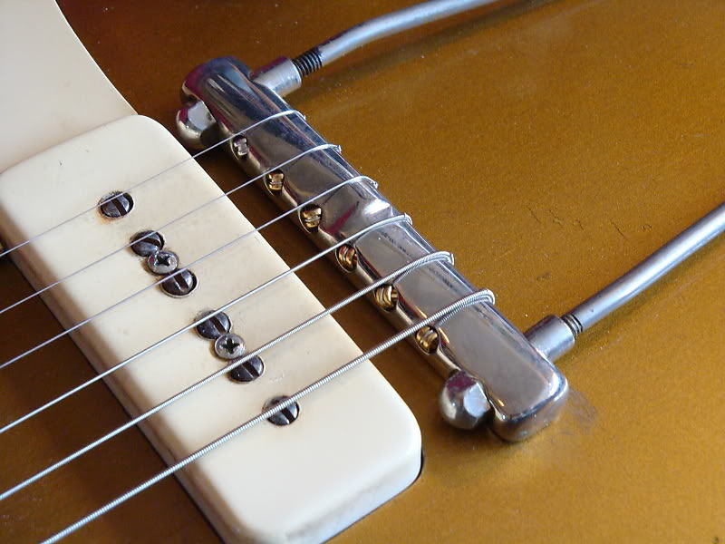 '52 Wrap-Over Trapeze Tailpiece by Music City Bridge