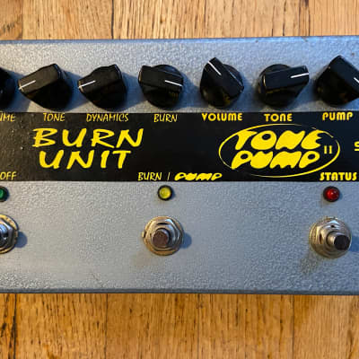 Barber Electronics 'Burn Unit' & 'Tone Pump' Duo/Combination Pedal for sale