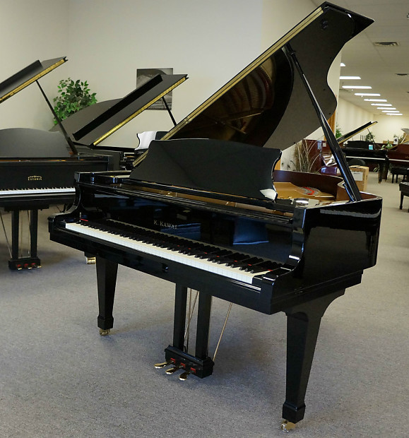 kawai rx3 grand piano black polish reverb. Black Bedroom Furniture Sets. Home Design Ideas