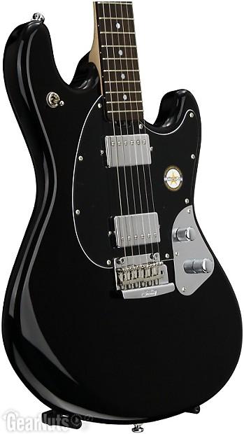 sterling stingray guitar black demo reverb. Black Bedroom Furniture Sets. Home Design Ideas