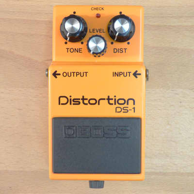 1984 Boss DS-1 Distortion - Legendary Vintage Made In Japan - MIJ Guitar Pedal - With Box! Ex. Cond. for sale