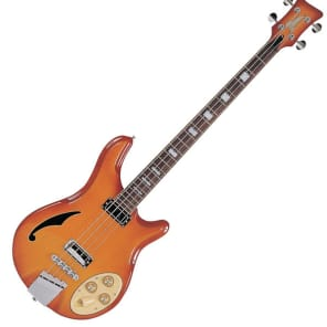 Italia Rimini 4-String Electric Bass Guitar - Cherryburst for sale