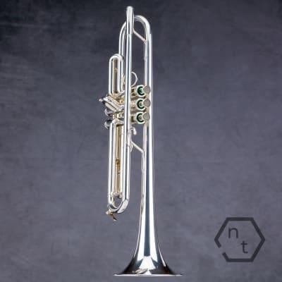 Schilke S32 professional Bb trumpet, silver plate