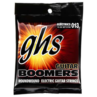 GHS Electric Boomers DYM Medium Electric Guitar Strings (13-56)