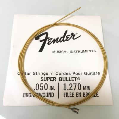 """Fender REAL Vintage 70's Super Bullet String 0.050"""" Bronze Wound"""