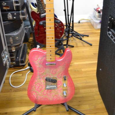 Fender Telecaster MIJ Pink Paisley w/ Maple Fretboard Early 80s for sale