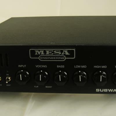 Mesa Boogie Subway D-800 Bass Amp *800 Watts *5.5 Lbs *Made in USA