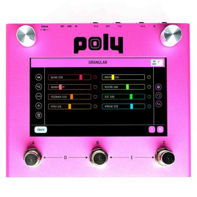 Poly Digit Quad Channel Delay, Reverb, Mixer, & Cab Simulator