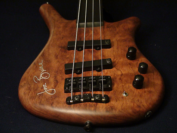 acbbf3c9bf Warwick Jack Bruce Limited Edition Fretless Thumb Bass | Reverb