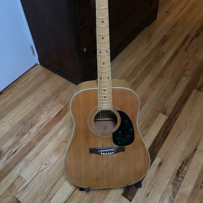(Very Rare) 1978 Natural Maple Lotus L120 Acoustic for sale