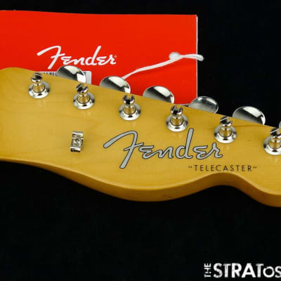 Fender Vintage 60s RI Telecaster Tele NECK + TUNERS 1960s Guitar Parts Pau Ferro