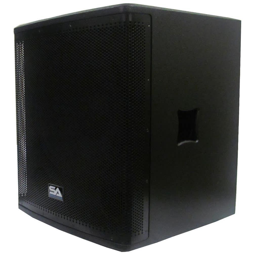 powered 18 premium subwoofer cabinet pa dj pro audio reverb. Black Bedroom Furniture Sets. Home Design Ideas