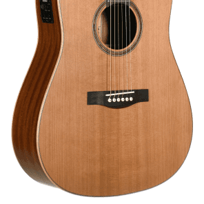 Teton STS105CENT Dreadnought with Electronics Natural