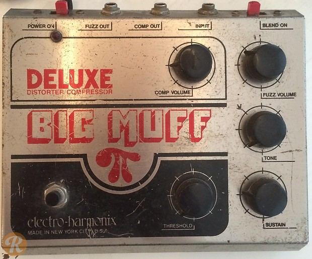 vintage electro harmonix big muff pi
