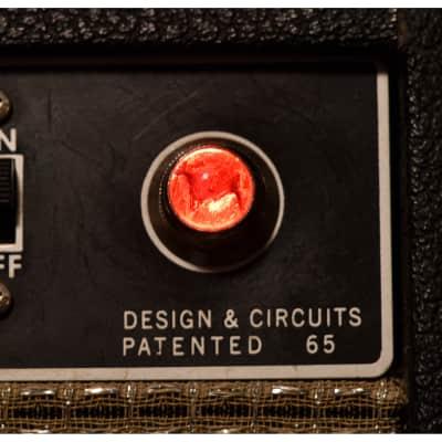 Invisible Sound Guitar amplifier Jewel Lamp Indicator amp jewel.  Model 2001.  For pilot light