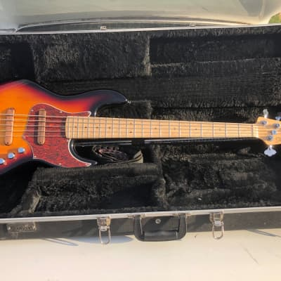 Xotic XJPRO Jazz Electric Bass Guitar 5 String Active w/ Case NICE for sale