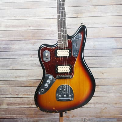 Fender Kurt Cobain Road Worn Jaguar Left Handed Lefty for sale