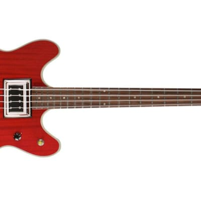 Guild Starfire Bass II Cherry Red 3792410866 MSRP $1800 for sale