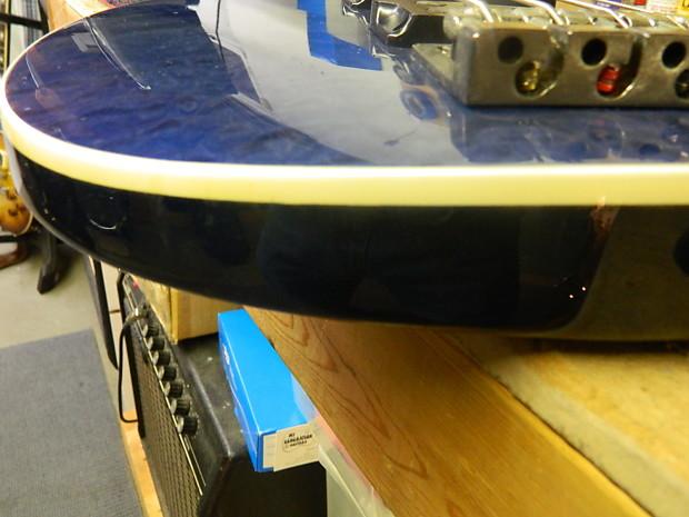 Ibanez SRX3EXQM1 c.2006 Trans-Blue | Reverb