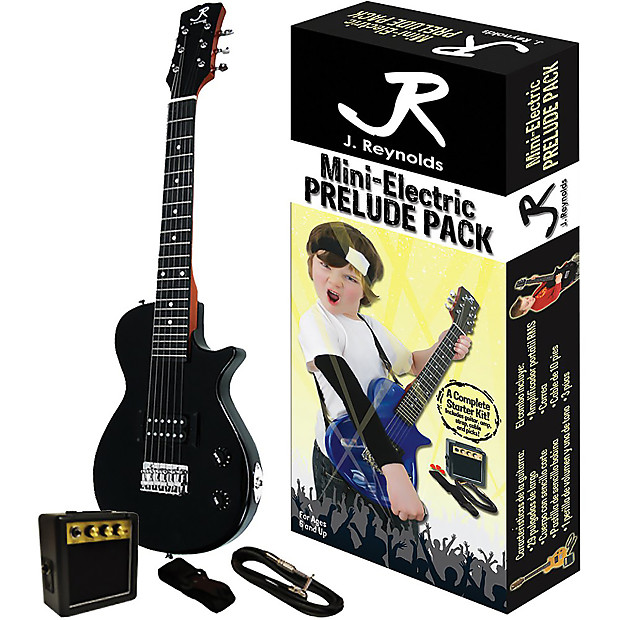new j reynolds kids 1 2 size mini electric guitar prelude reverb. Black Bedroom Furniture Sets. Home Design Ideas