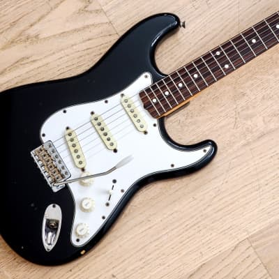 1983 Fender Stratocaster '62 Vintage Reissue ST62-70 Black JV Japan MIJ, USA Fullerton Pickups for sale