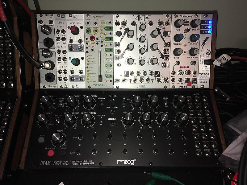 Moog Dfam And Eurorack Modules Reverb