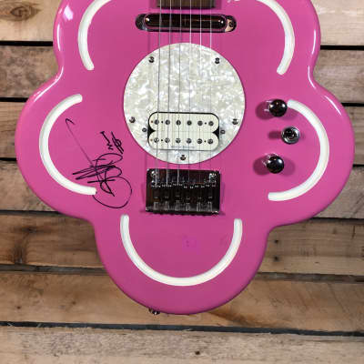 Daisy Rock Pink Flower Pink Electric Guitar - FUN for sale