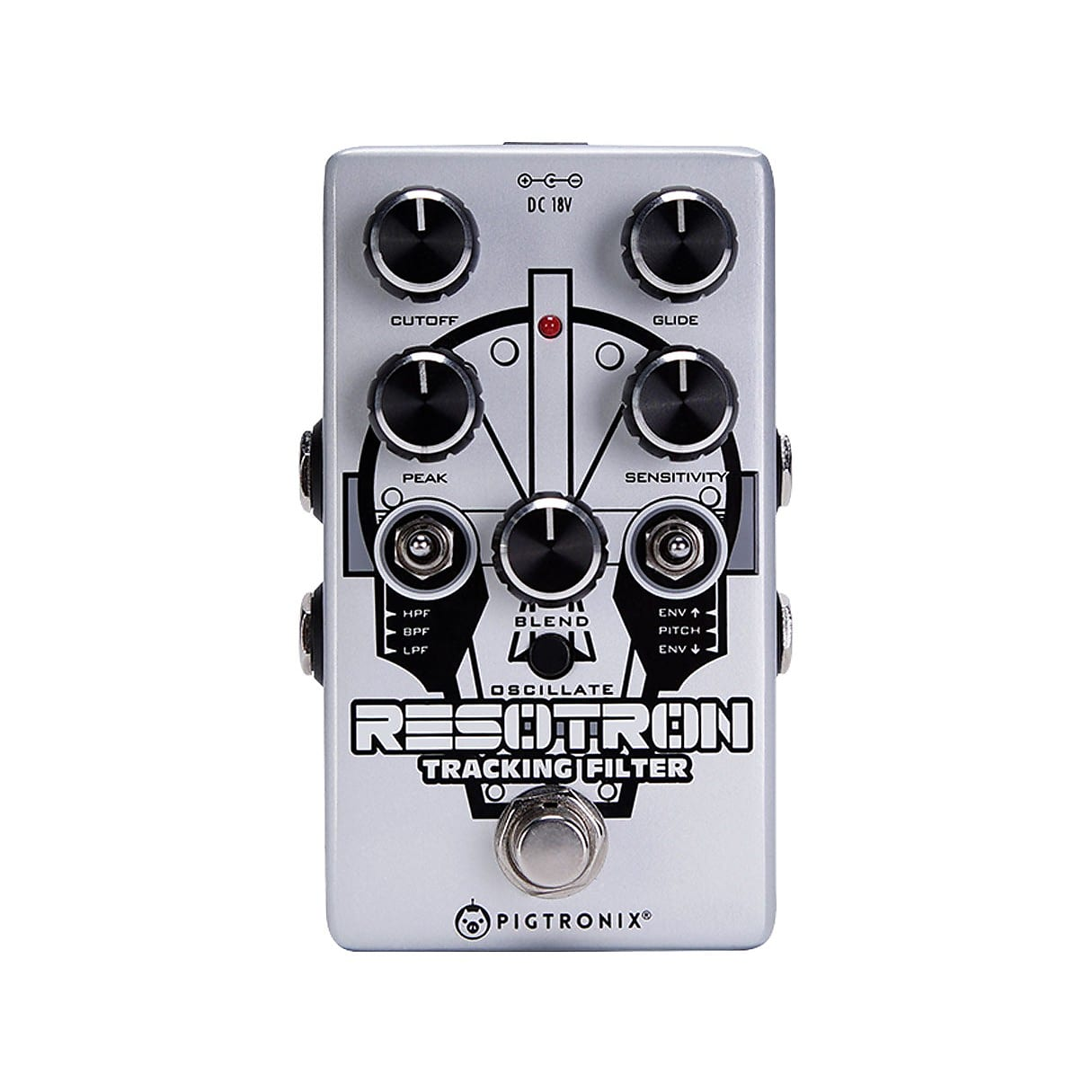 Pigtronix RTF Resotron Analog Tracking Filter Effects Pedal
