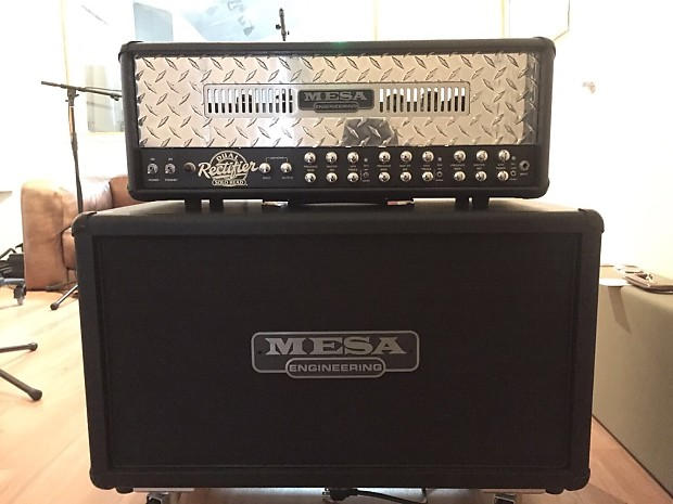 mesa boogie dual rectifier head 2x12 rectifier cabinet reverb. Black Bedroom Furniture Sets. Home Design Ideas