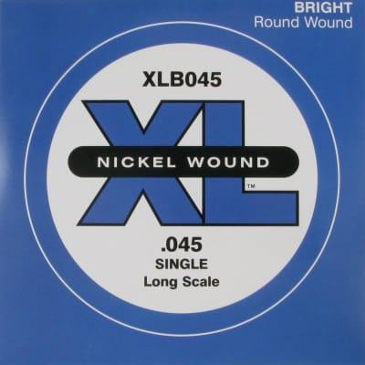 D'Addario XLB045 Bass Single