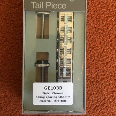Gotoh Gotoh GE103B-T Tune-o-matic Bridge 2019 Chrome for sale