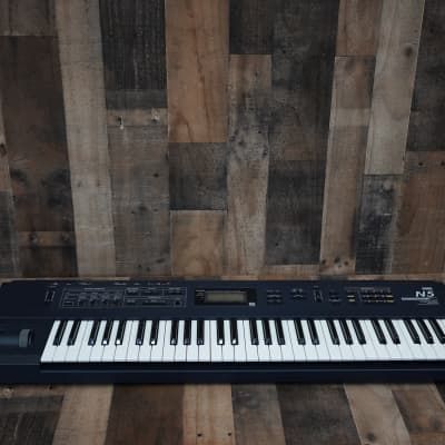 Korg N5 Dark Blue 61 Key Synthesizer Keyboard Synth 1998