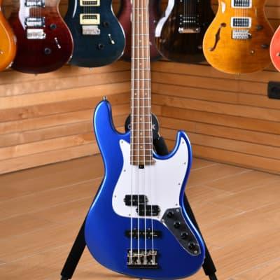 Sadowsky MetroExpress 21 Fret Hybrid PJ Bass Solid Ocean Blue Metallic for sale