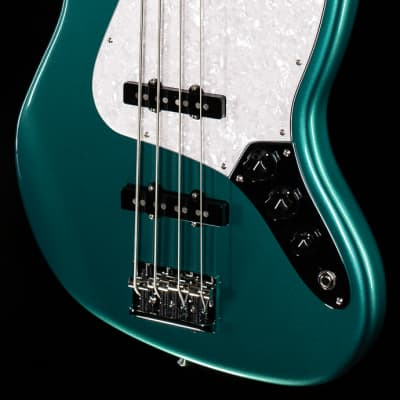 Fender Artist Series Adam Clayton Jazz Bass Sherwood Green Metallic (000) for sale
