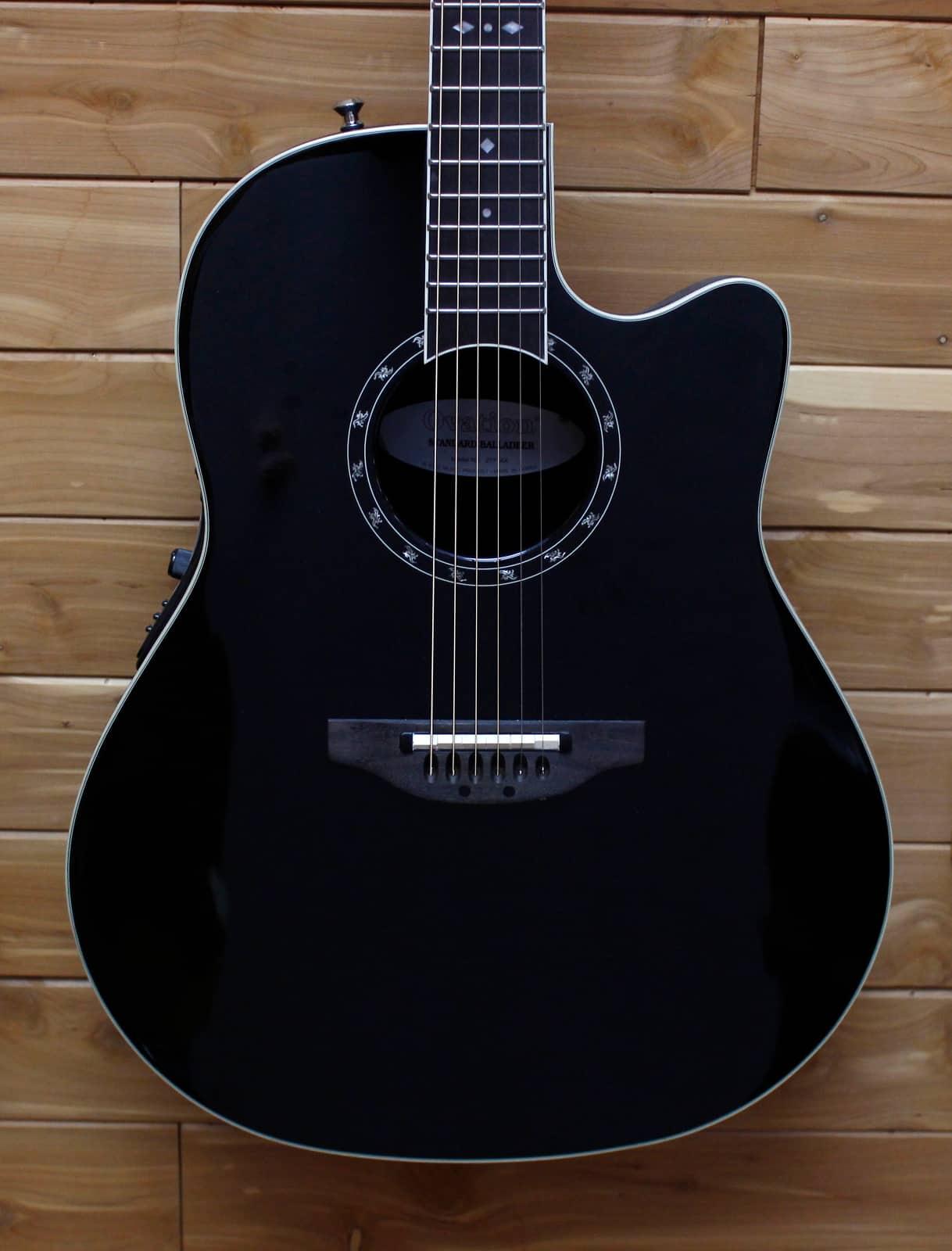 ovation standard balladeer 2771 ax acoustic electric guitar reverb. Black Bedroom Furniture Sets. Home Design Ideas