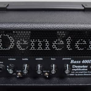 Demeter VTB-400D Amp in Tolex-Covered Wood Case for sale