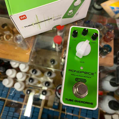 Monoprice Tube Overdrive 2010s Green for sale