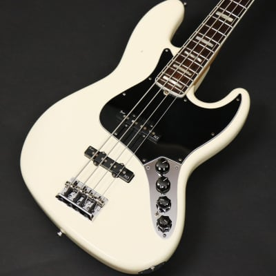 Fender USA American Deluxe Jazz Bass N3 Olympic White - Shipping Included* for sale