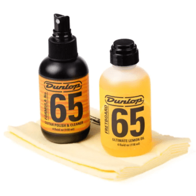 Dunlop 6503 Formula 65 Guitar Body and Fingerboard Cleaning Kit
