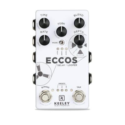 Keeley ECCOS Neo-Vintage Tape Delay / Looper pedal