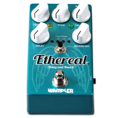 New Wampler Ethereal Reverb and Delay Guitar Effects Pedal!