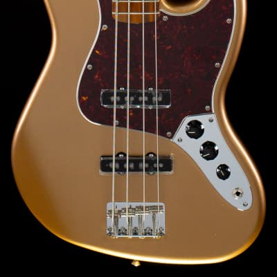 Fender Vintera '60s Jazz Bass Firemist Gold (263) for sale