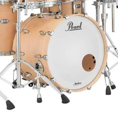 """Pearl MCT1814BX Masters Maple Complete 18x14"""" Bass Drum without Tom Mount"""