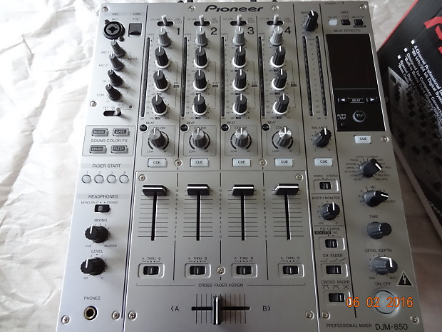PIONEER DJM-850-S DIGITAL MIXER WINDOWS 7 X64 TREIBER