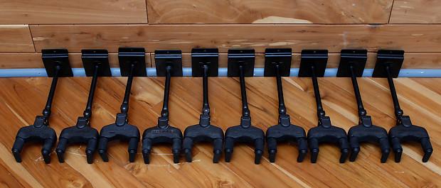 hercules gsp40sb a g guitar hanger 10 hangers reverb. Black Bedroom Furniture Sets. Home Design Ideas
