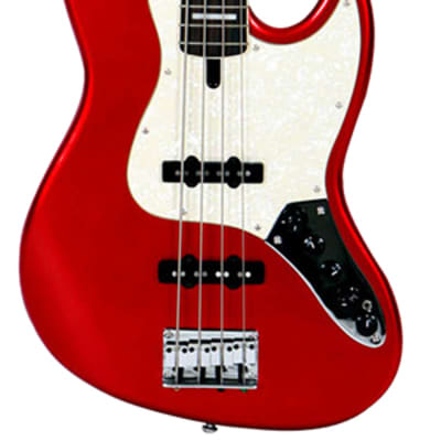 Marcus Miller V7 Alder Bright Metallic Red touche palissandre 4 cordes for sale