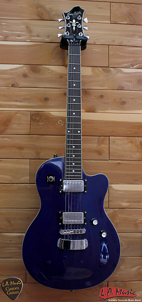 hagstrom d2h royal blue sparkle solid body electric guitar reverb. Black Bedroom Furniture Sets. Home Design Ideas