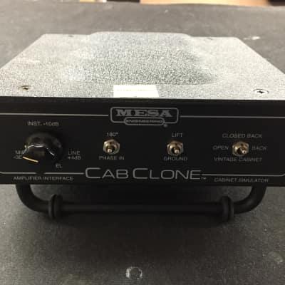 Mesa Boogie Cab Clone Cabinet Simulator Black